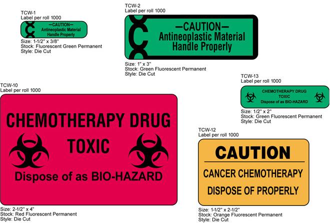 Chemotherapy Warning Labels